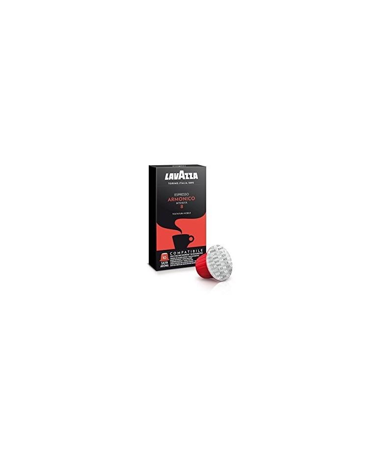Lavazza 10 x 10 capsule Espresso Armonico compatibili Nespresso