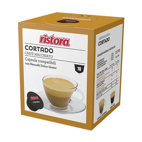 Ristora 40 capsule Cortado Caffè Macchiato