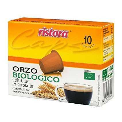 Ristora 60 capsule Orzo Biologico compatibili Nespresso
