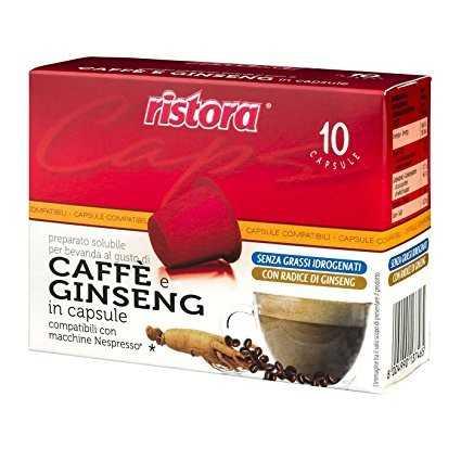 Ristora 60 capsule Ginseng compatibili Nespresso