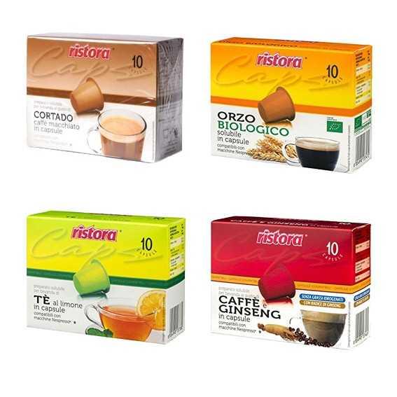 Ristora Mix 40 capsule compatibili Nespresso