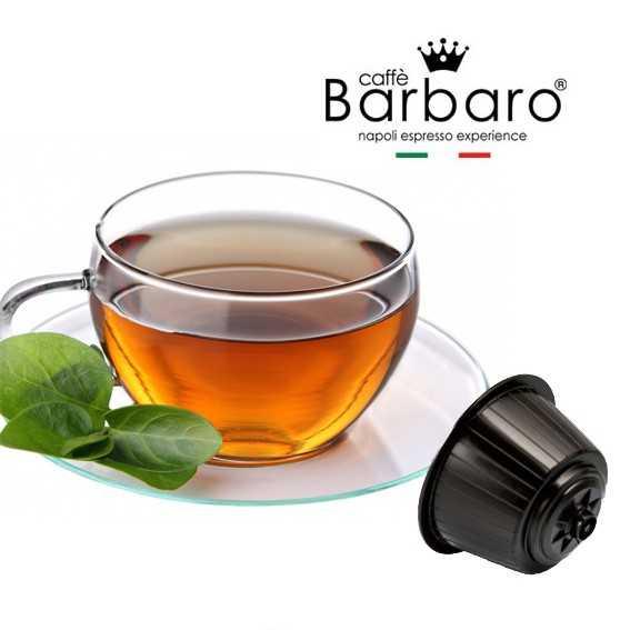 40 capsule Barbaro Tè Verde compatibili Nescafè Dolce Gusto