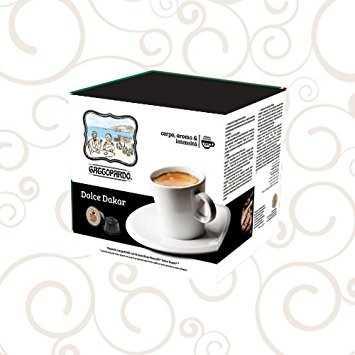 TODA CAFFE' - 100 Capsule Dolce DAKAR Gattopardo compatibili Nescafè Dolcegusto