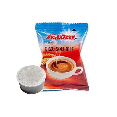 Ristora 100 capsule preparato ORZO solubile compatibili con Lavazza Espresso Point
