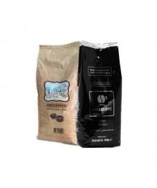 2 kg caffè in grani (1 kg TODA  gusto cremoso + 1 kg LOLLO nera)