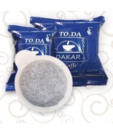 CAFFE' TODA GUSTO DAKAR in cialde ESE 44mm confezione da 150pz