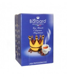 500 CAPSULE CAFFE' BARBARO BLU compatibili Nespresso