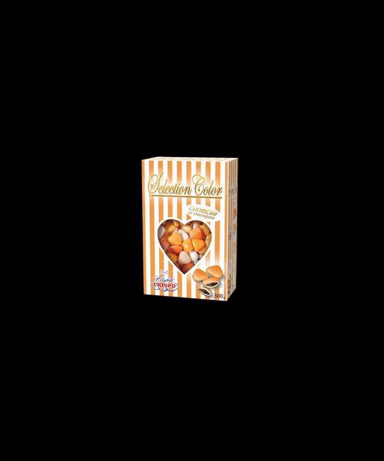 Selection color cuoricini mignon Arancio
