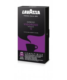 Lavazza 10 x 10 capsule Espresso Vigoroso compatibili Nespresso